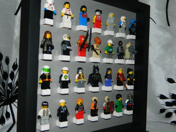 articles similaires vitrine la main pour figurine lego lego minifig lego starwars lego. Black Bedroom Furniture Sets. Home Design Ideas