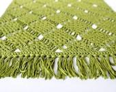 Square-Lace - crochet pattern (Dutch/English/French/Deutch/Danish/Norwegian)