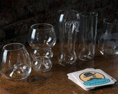 Full Set of Style Glasses with 5 Coasters