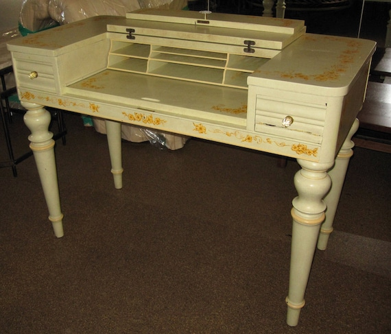 Items similar to vintage writing desk from hathaway 39 s for Hathaway furniture new york