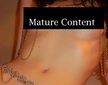 Adult Chainmail Body Jewelry Set - MATURE PHOTOS