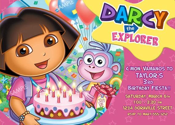 Dora Birthday Wall Decoration : Unavailable listing on etsy