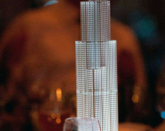 Willis Tower, Sears Tower- Architectural Model, Accent Lighting, Luminary- Chicago Skyline