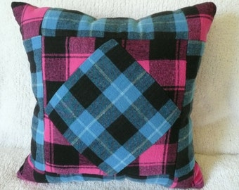 Pretty Plaid Children's Pillow