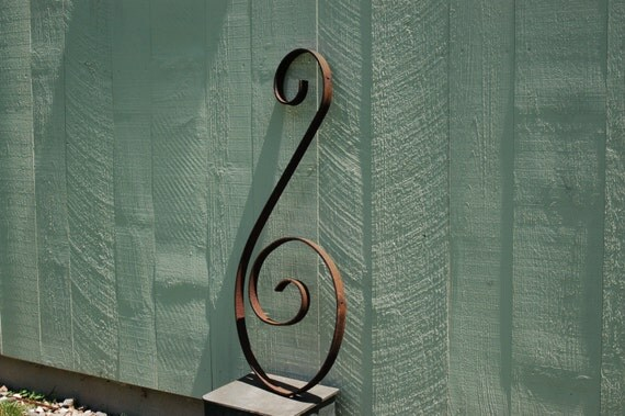 Wrought Iron Architectural Salvage Large By
