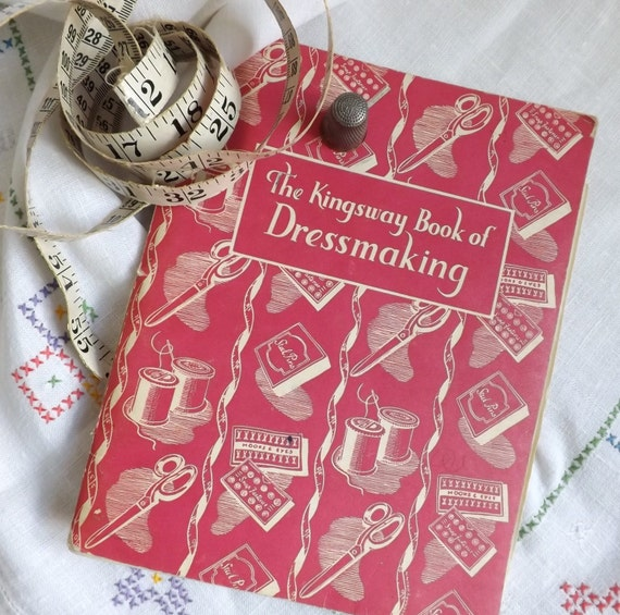 Vintage dressmaking book from Curios an Collectibles
