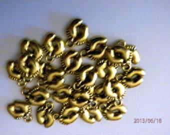 15 Gold Baby Feet