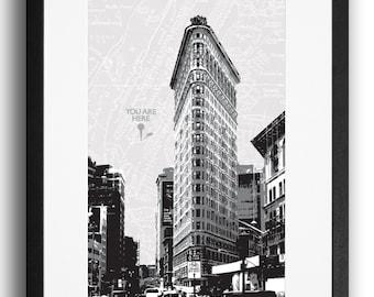 Flatiron Building Monochrome