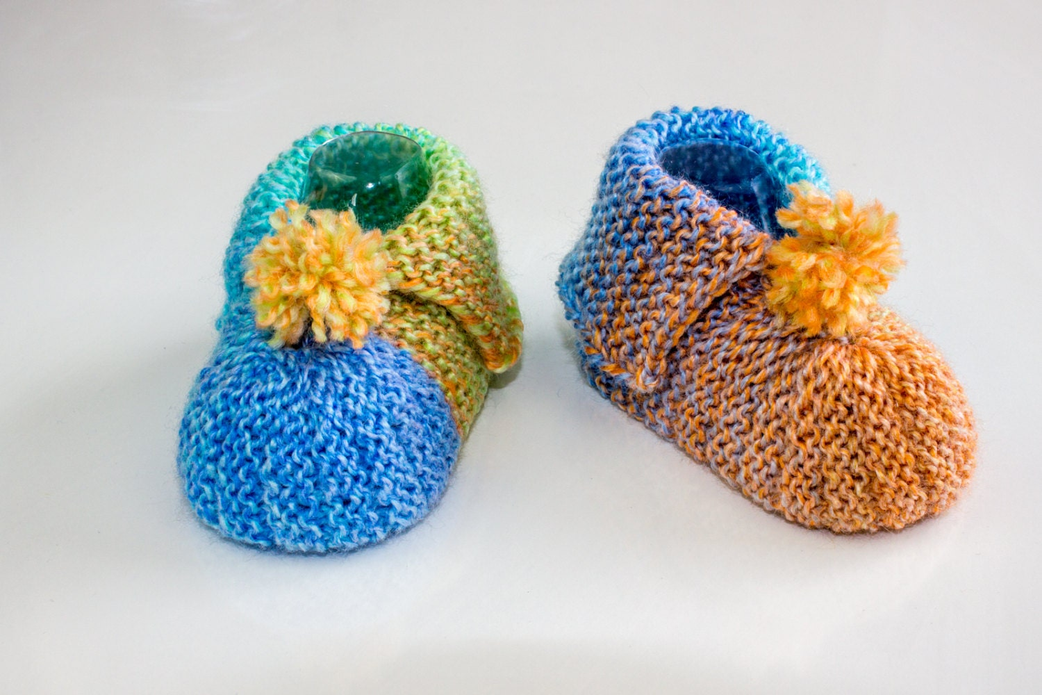 KNITTING PATTERN PDF Super Easy Baby Booties Garter Stitch