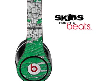 Green Flake Skin for the Beats by Dre Studio, Solo, MIXR, Pro or Wireless Version Headphones