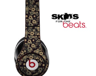 Tiny Sprockets Skin for the Beats by Dre Studio, Solo, MIXR, Pro or Wireless Version Headphones