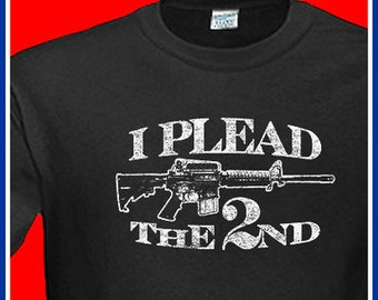2ND AMENDMENT T-Shirt Nra T-Shirt Republican Democrat Mens Womens HipHop T-Shirt (also available on crewneck sweatshirts and hoodies) SM-5XL