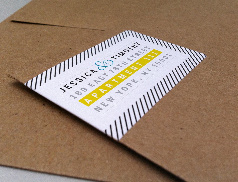 100 wrap around return address labels