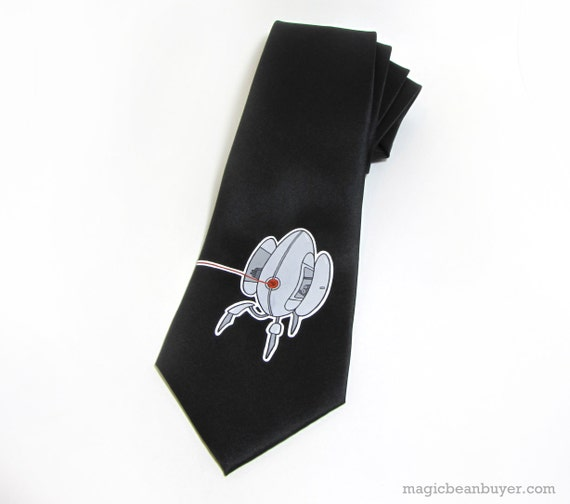 I'm Different - Hand-Painted Portal Necktie