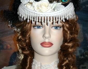 Victorian Riding Hat Sidesaddle Hat SASS Hat - Spirit of San Jose
