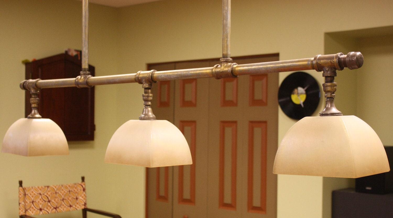 Artefacto Iluminacion Baño:Custom Pool Table Light Fixtures