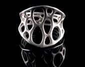 1-layer center ring (3D printed stainless steel)