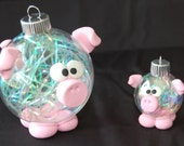 Small Pig Ornapet Ornament