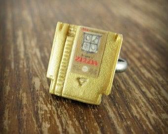 Tiny Legend of Zelda Nintendo Game Ring
