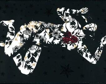 Inner Landscape Serigraph Silkscreen Print