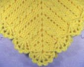 PDF Pattern Crocheted Baby Afghan, CARSEAT Size and Newborn Size Blanket -- Granny Twist II