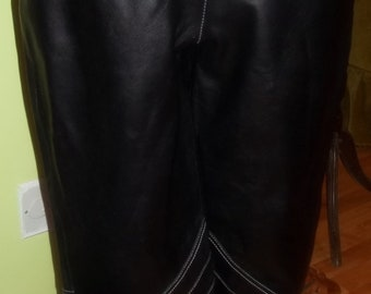 Ultra Cool Italian Made MICHAEL JACKSON Styled Leather Pants
