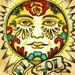Mexican Folk Art Sun EL SOL Loteria Print 5 x 7, 8 x 10 or 11 x 14