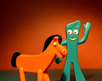 Gumby & Pokey - Photograph - Various Sizes