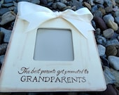 Ultrasound Grandparent Picture Frame Ultrasound Sonogram New Baby Announcement