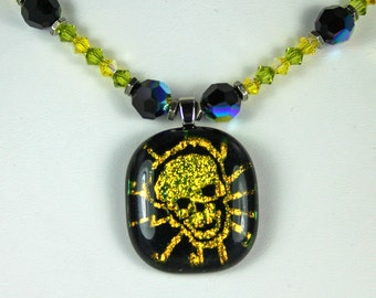 Absinthe Madness Necklace and Earrings