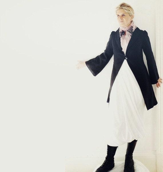 Black Linen Jacket - Reserved