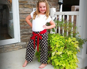 Easy Kids Pants Pattern nb - 10 girls boys Instant