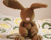 Baby's First Bunny - Crochet PDF Pattern - Makes a great gift