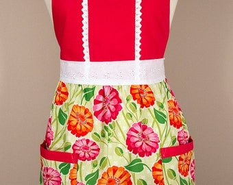 Eleanor - Zinnia Apron