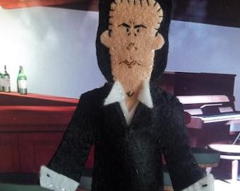 Nick Cave Felt Finger Puppet