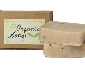 Frontiersman Natural Organic Soap for men with Shea Butter and Essential Oils -  4.5 oz - 128 grams