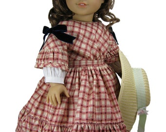 Civil War PDF pattern for American Girl Marie-Grace & Cecile doll 1850s Cherie