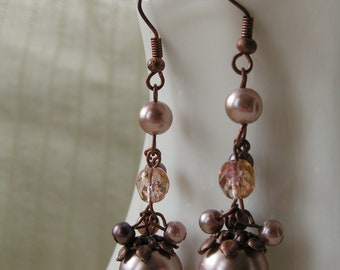 Light Brown Earrings