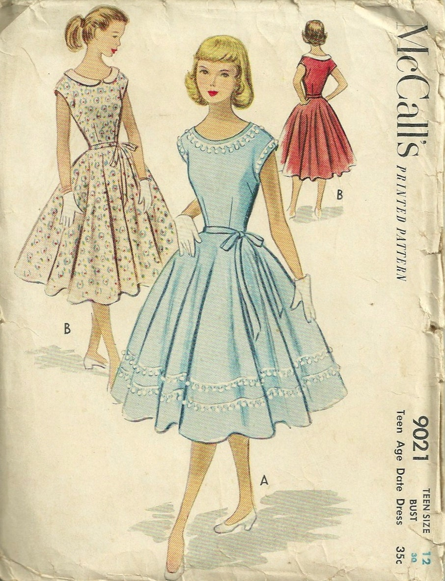 Need Help dating 1950 s dresses please