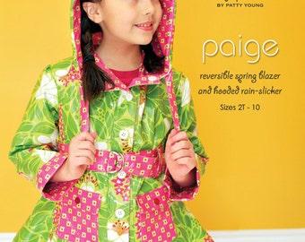 Rain Slicker Pattern Girls Blazer Paige by Mod Kid