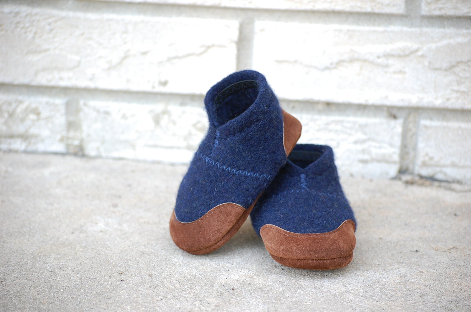 Baby Shoes Wool Toddler Slippers Eco Friendly Size 0 12