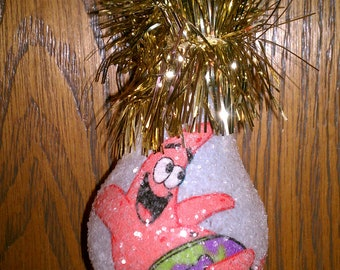 Patrick keepsake light bulb ornament