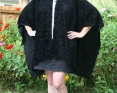 The Morticia Wrap - A Striking Black Shawl