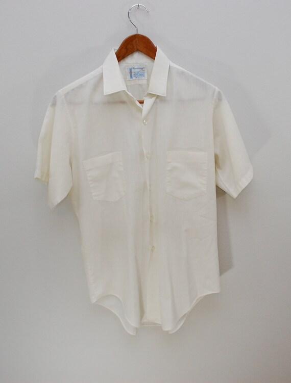 Vintage TOWNCRAFT Penneys short sleeve shirt 1960's