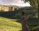 Jane Austen Art, Elizabeth Visits Pemberley, Pride and Prejudice, Regency Fine Art Print