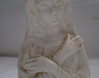 SALE Vintage Rubens Madonna Virgin Mary Vase Planter
