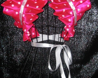 Cosplay Anime Collar Bolero Shrug Minnie Mouse