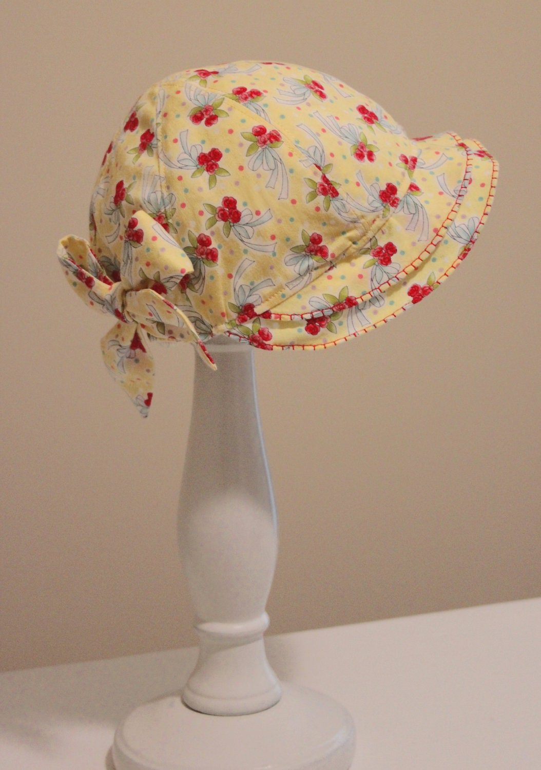 Easter Sew Vintage Flouncy Hat Pattern Sizes 3 Months 24