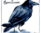 Raven Lunatic Organic Cotton T-Shirt
