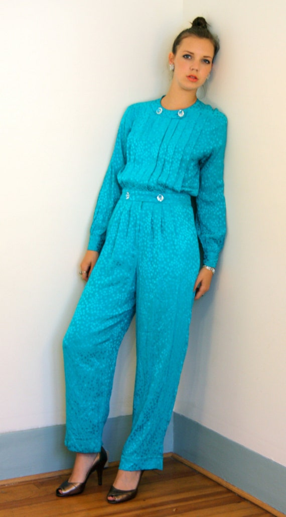Unique Jumpsuits Amp RompersNEW Womens Turquoise Sexy Blue Silk Strapless